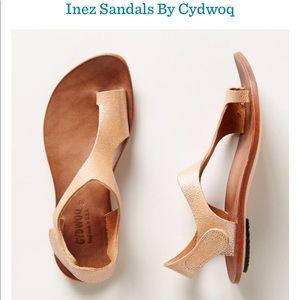 Inez sandals by CYDWOQ